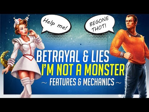 Trust Nobody in I'm Not A Monster - Multiplayer Tactics Game