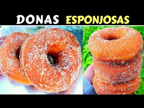 DONAS Caseras ESPONJOSAS/Dulce Hogar Recetas