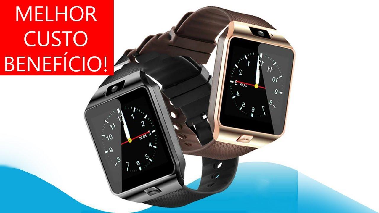 0924ff4c3fb SmartWatch Relógio Inteligente o Melhor e mais Barato VEJ AGORA ...