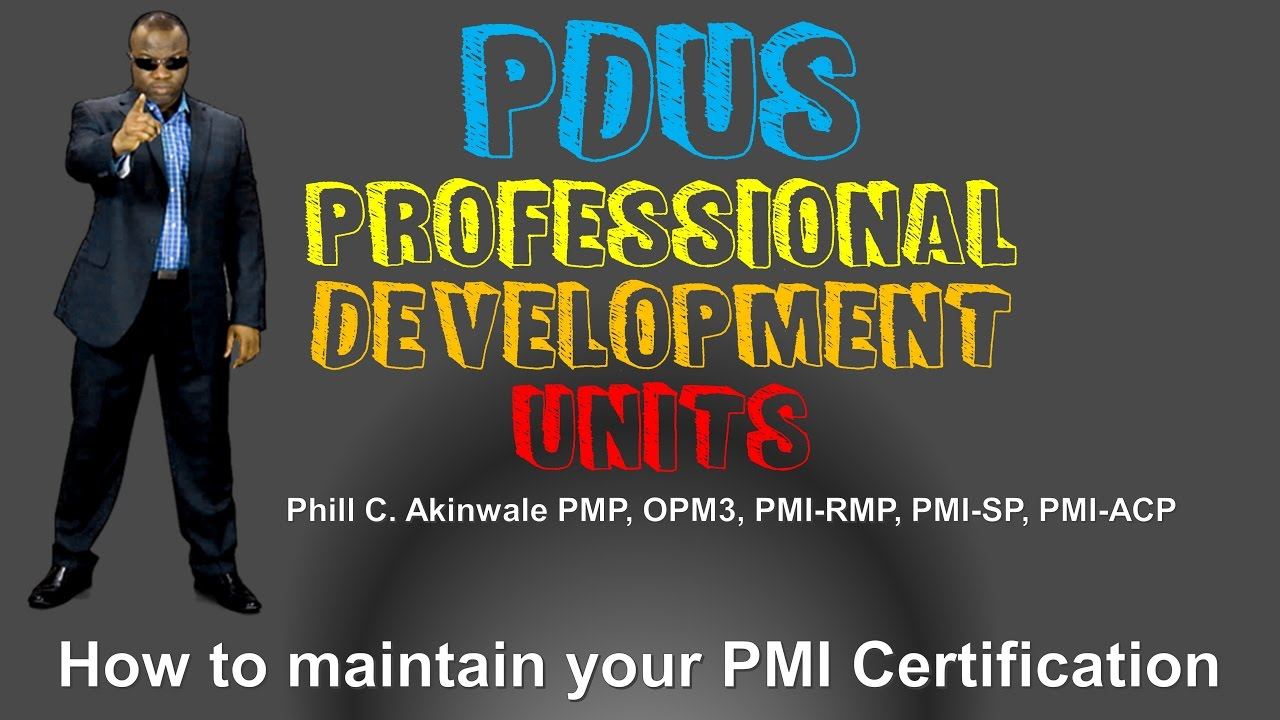 How To Earn Pdus To Keep Your Pmp Cert Pmi Talent Triangle Youtube