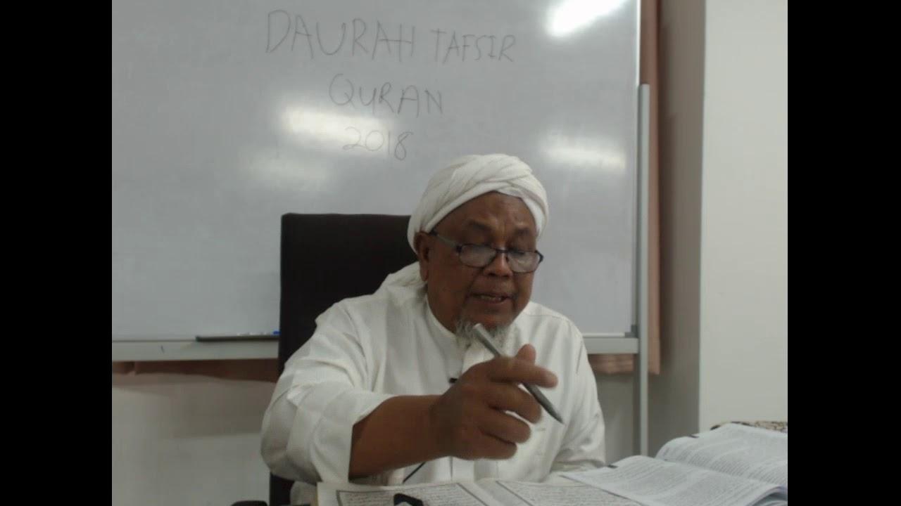 Download DAURAH TAFSIR  QURAN DI MADRASAH TAFSIR SUNNAH 2018 SESI 2  PTG  ( 1-5-2018)