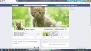 Tutoriel Facebook ! Comment ajouter ou changer sa photo de couverture !