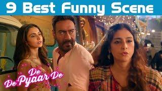 De De Pyaar De Trailer 9 Best Funny Scene | Ajay Devgn, Tabu, Rakul Preet Singh | Comedy Scene