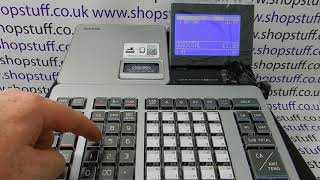 Brief overview of how to use the casio sr-s500, pcr-t540 & sr-s820 cash registers.