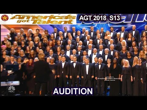 """Angel City Chorale Choir With """"AFRICA"""" AWESOME  America's Got Talent 2018 Audition AGT"""