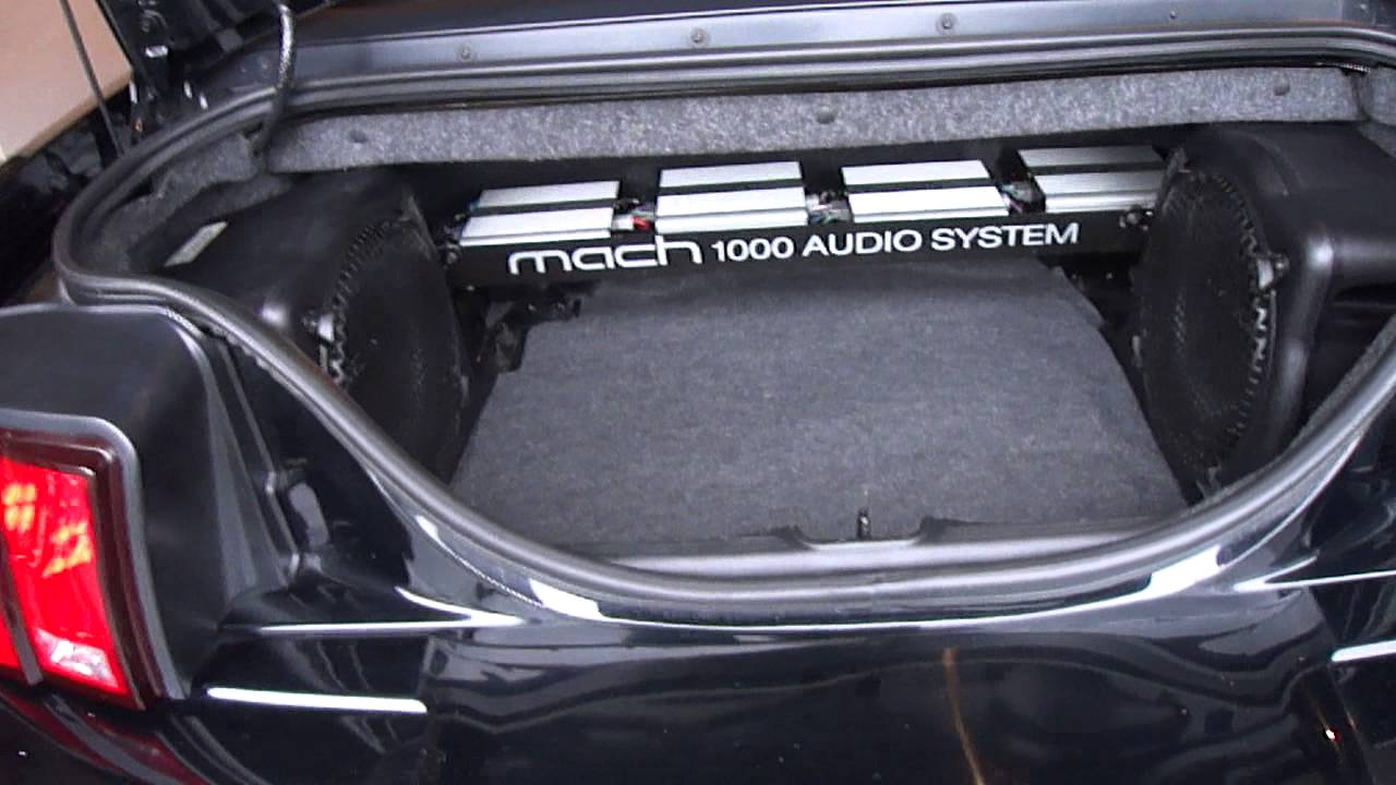 Mustang Mach Audio System Ford