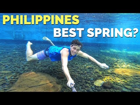 CLEANEST, COLDEST, AND BEST PHILIPPINES SPRING WATER? (So Clear!)