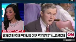 Angela Rye debates Jeff Sessions,past racist allegations,pressure on attorney general nomination Free HD Video