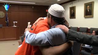 Father Forgives and Hugs His Son's Murderer -