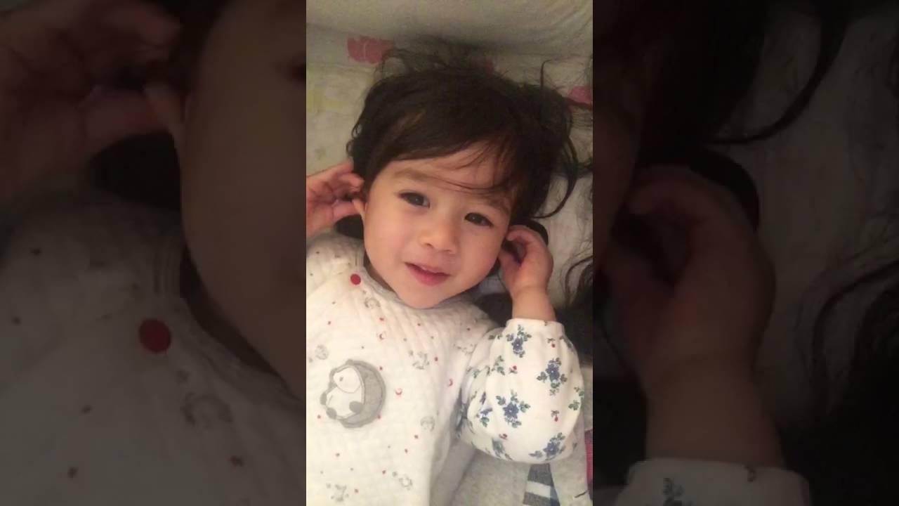 cute half Korean baby talking - YouTubeKorean Toddler Youtube