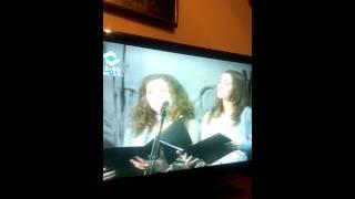 """""""Tiha noc"""" koncert 2010, Visoko. Solistice: Sara Stankovic i Nea Lizde."""
