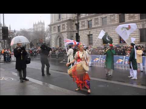RANI TAJ - Dhol for New Year's Day Parade - Part 2/3