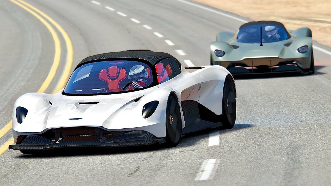 Aston Martin Valhalla Vs Aston Martin Valkyrie Black Cat Country Youtube