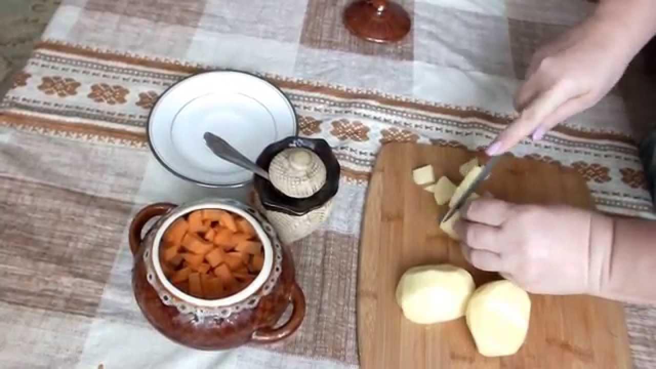 Жаркое в духовке из свинины с овощами рецепт