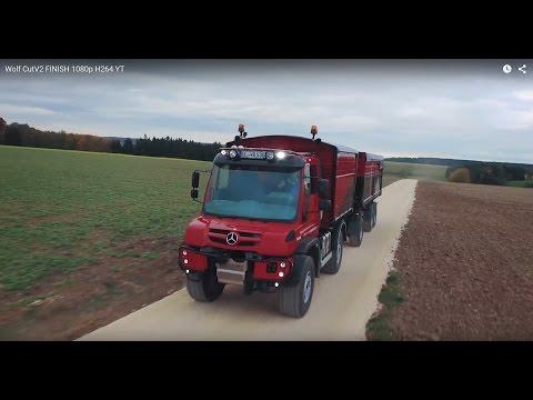 Mercedes-Benz Unimog beim Agrarbetrieb Wolf