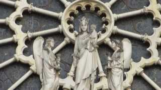 Notre Dame Cathedral Paris Travel Tour | Paris Notre Dame Cathedral Attraction Destination Video