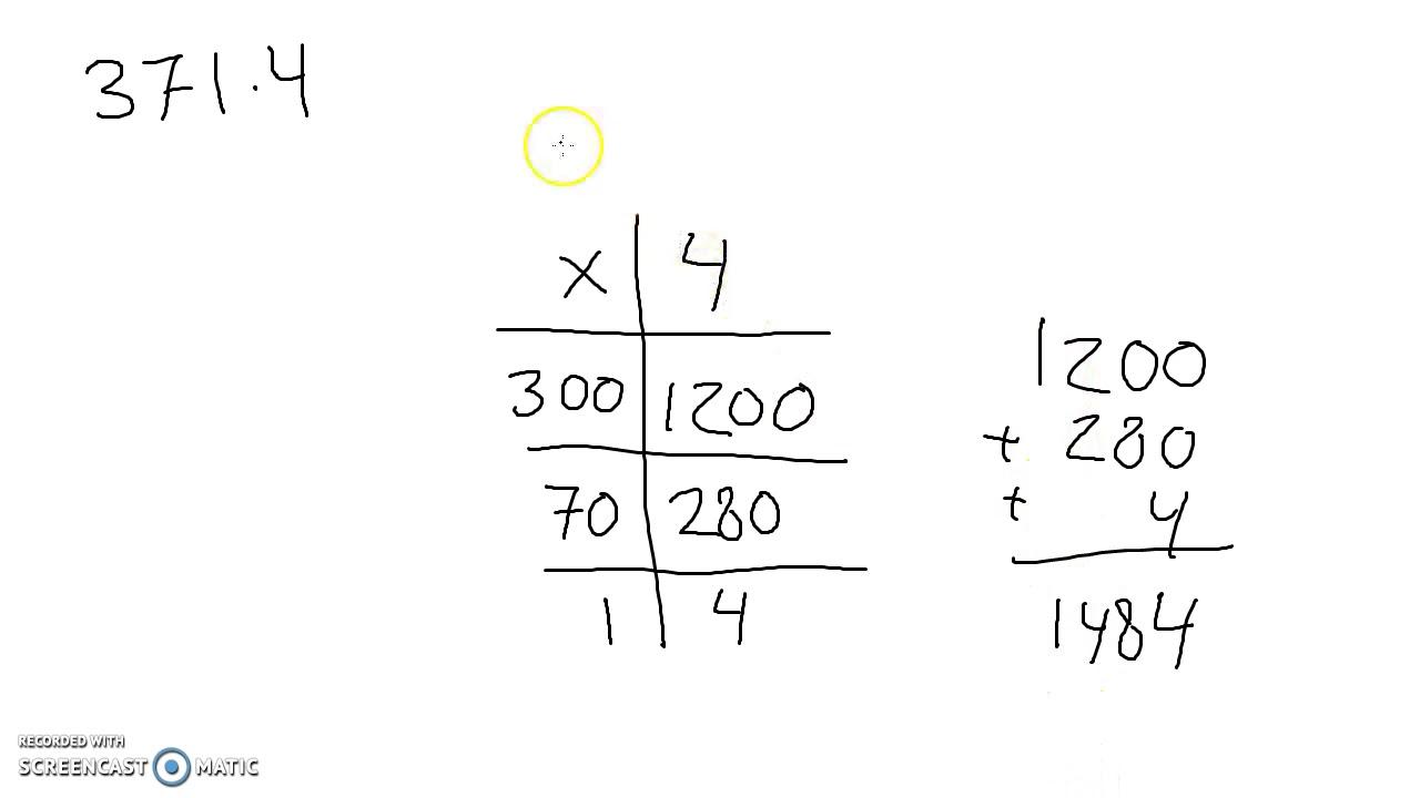 Metode til at gange store tal