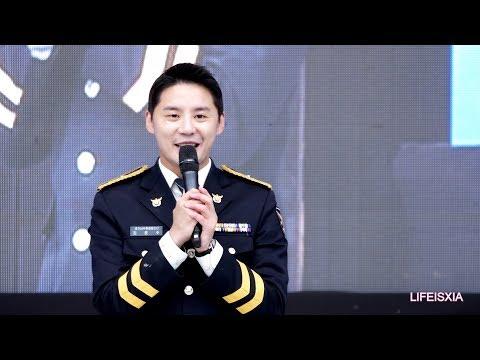 [4K] 171115 김준수 XIA - 사랑은 눈꽃처럼 , 토크 , 황금별 [경기도 농업인의 날]