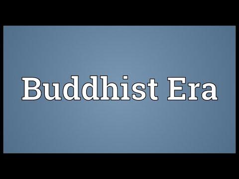 Buddhist Era Meaning