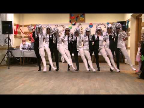 Fekete-fehér tánc - Hiss: Tanz