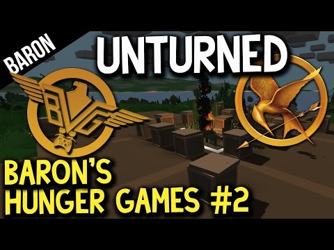 Unturned Hunger Games - Betrayals, and Funny Fails!