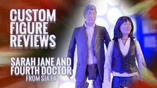 Custom Figure Review - S2 - 10: Sarah Jane and Fourth Doctor