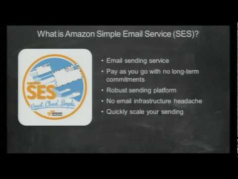 AWS re: Invent SVC 103: Using Amazon Simple Email Service
