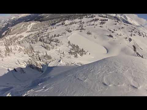 Julian Carr frontflip and Robert Aaring backflip at Air Jordan, Whistler