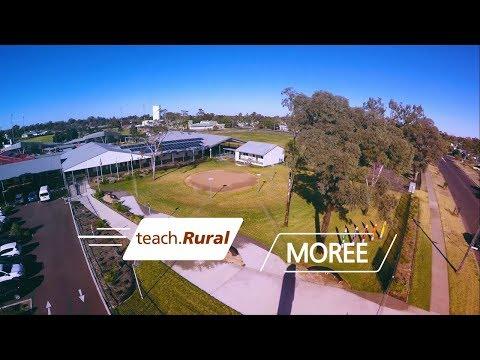 Moree - How far can teach.Rural take you?