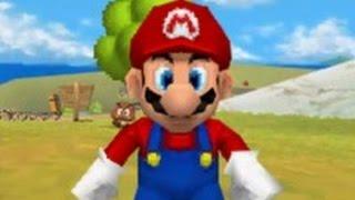 Super Mario 64 DS - 100% Walkthrough Part 1 - Bob-omb Battlefield