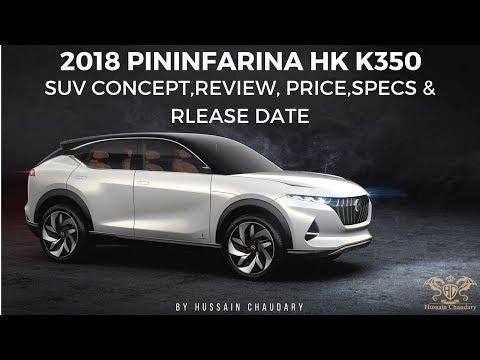 2018 Pininfarina HK K350 SUV Concept | Review, Price,Specs & Rlease Date