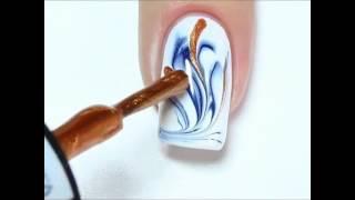 Обрезной маникюр видео уроки