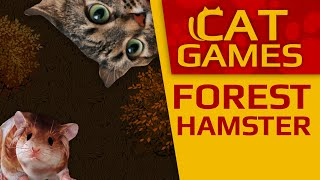 CAT GAMES - Forest Hamster (Videos for Cats to watch) 2 Hours 4K