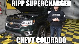 RIPP Supercharged Chevy Colorado makes BIG POWER!