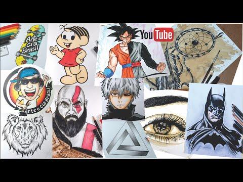 Desenhos do Canal em 2016 - #200K