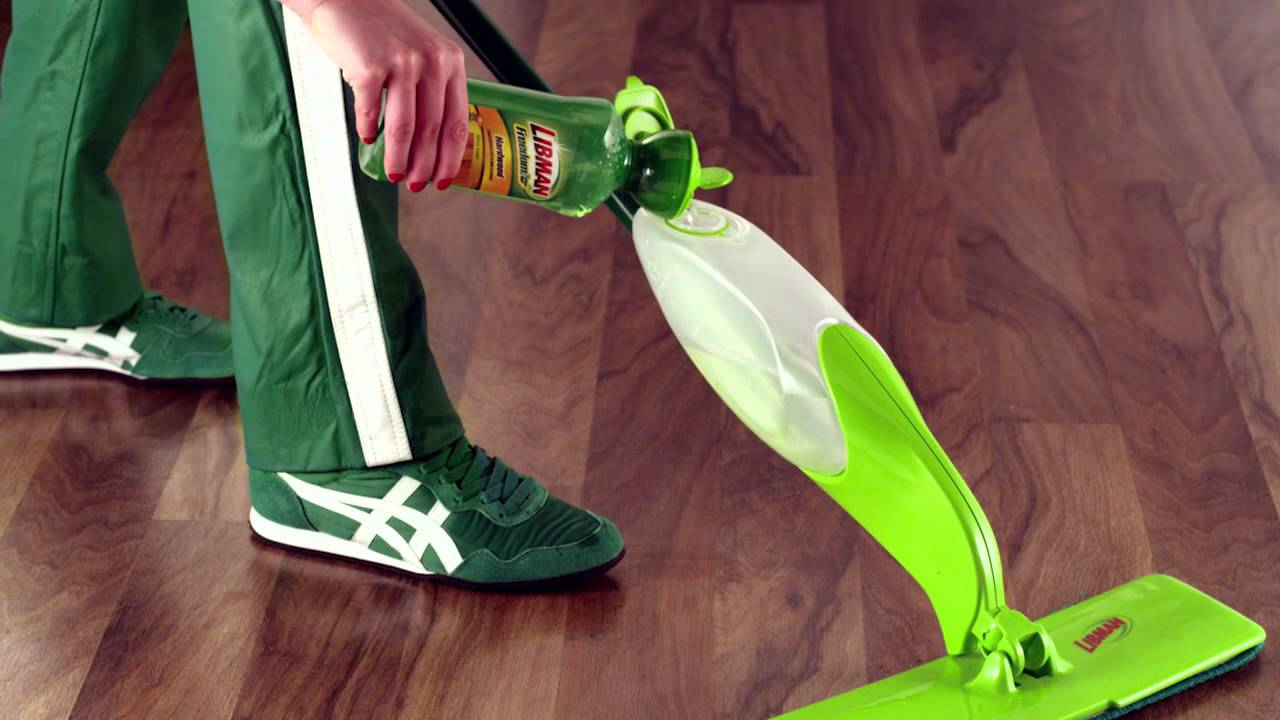 libman freedom spray mop floor cleaner commercial youtube