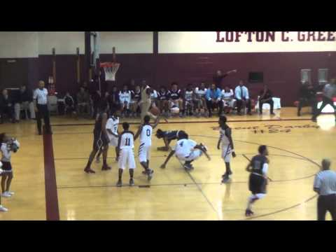 Deyonta Davis Highlight Dunks vs River Rouge