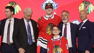 Chicago Blackhawks draft F Kirby Dach with the third overall pick