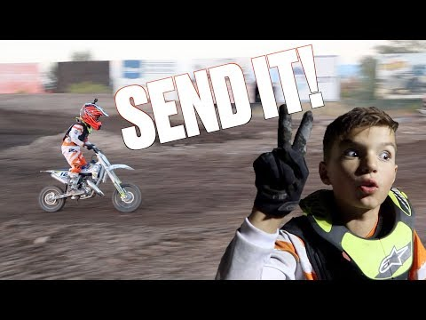 BEST MOTOCROSS RACE OF HIS LIFE | EIGHT YEAR OLD TAKES THIRD PLACE AT DIRT BIKE CHAMPIONSHIPS