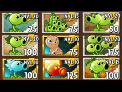 Plants Vs Zombies 2 Todos Los Guisantes En Su Máximo Nivel