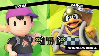 Game Nest Smash It Up: FOW (Ness) vs Mike (King Dedede) - Winners Round 4