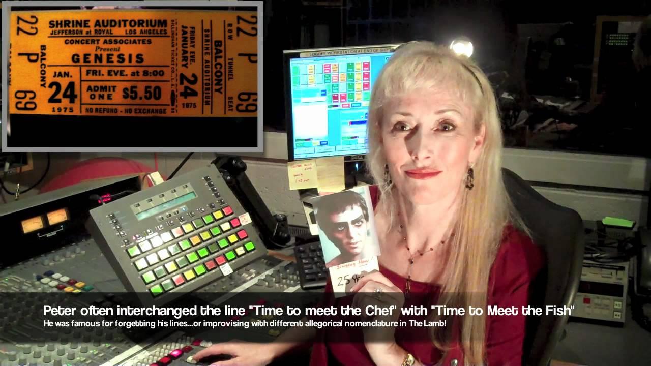 Analysis: Lamb Lies Down on Broadway series - Lileighwhite com
