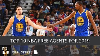 Top 10 2019 NBA Free Agents