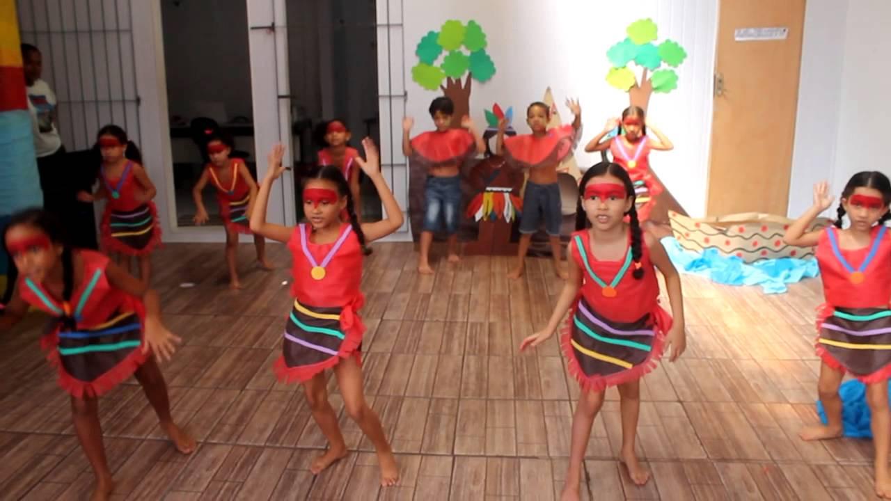 Hoje é Dia De Treinar: Coreografia Dia Do Índio