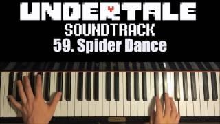 Undertale OST - 59. Spider Dance (Advanced Piano Cover)