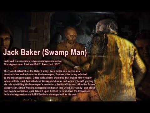 Battle Data Baker Family Resident Evil Youtube