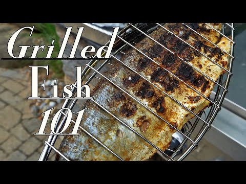 Grilled Whole Fish 🐟 Catch And Cook Cocktail Bluefish
