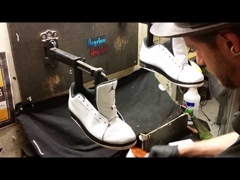 Cleaning Jordans, shoe sole therapy