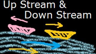 Upstream down stream speed distance math problem - Tricks and Concepts