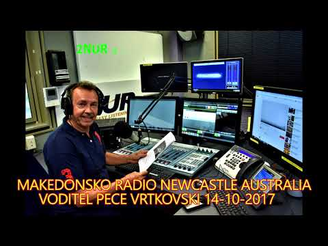 MAKEDONSKO RADIO 2NUR 103.7 FM NEWCASTLE AUSTRALIA 14 -10- 17